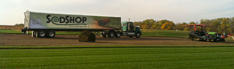 Sod installation and delivery