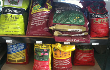 lawn chemicals feed